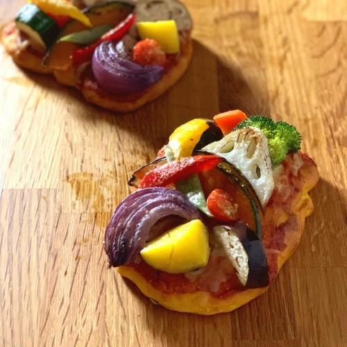 どさりお野菜のオープンサンド